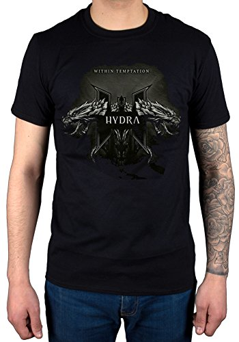 Official Hydra Within Temptation T-Shirt Album Music Metal Gothic Dragon