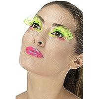 Smiffy's 48092 Neon Green 80s Polka Dot Eyelashes (US)