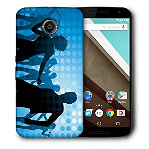 Snoogg Disco Party Designer Protective Phone Back Case Cover For Motorola Nexus 6