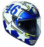 AGV Motorradhelm Veloce S E2205 Top PLK, Ranch Blau, Größe XL
