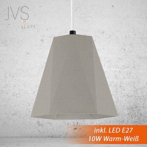 Beton Lampe Leuchte LED E27 Pendel Hnge