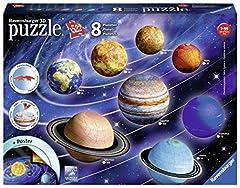 Idea Regalo - Ravensburger Il Sistema Planetario - 3D Puzzleball