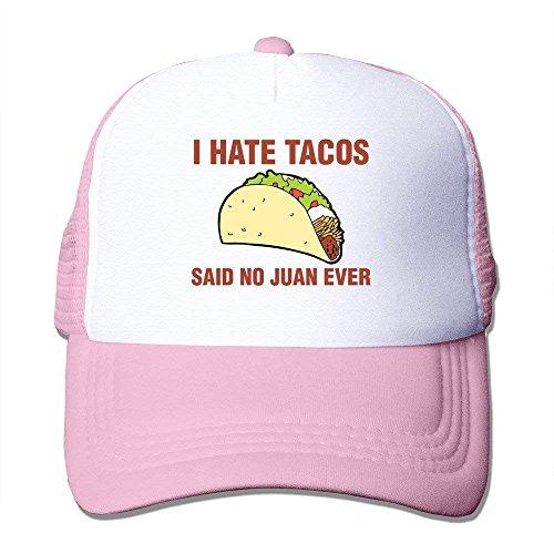 Wamnu I Hate Tacos Said No Juan Ever Funny Gift Trucker Hat Fashion Cap Custom s (Custom Hunde Kostüm)