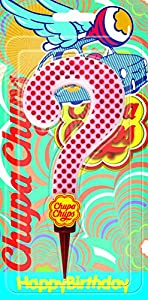 Cereria de Giorgio ch00002_ 70vela Cumpleaños gigante Chupa Chups símbolo? Con Soporte