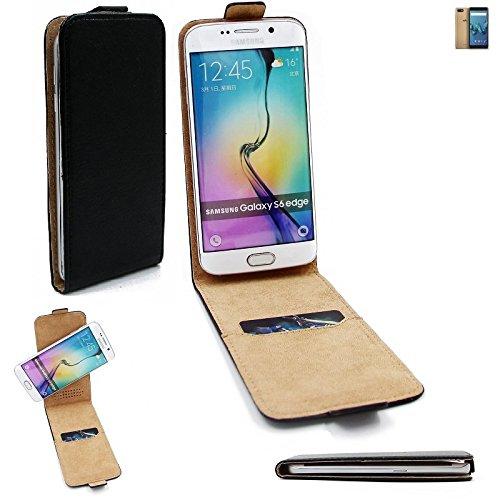 K-S-Trade Für Wiko Tommy 3 Flipstyle Schutz Hülle 360° Smartphone Tasche, schwarz, Case Flip Cover für Wiko Tommy 3
