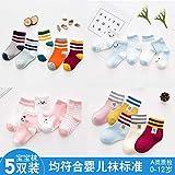 XUESAXZAZ Damen Socken Baby Socken Frühjahr und Herbst Kinder dünne Baby Sommer Baby Socken Baumwolle neugeborenes Mädchen Socken