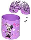 Unbekannt Spirale / Treppenläufer -  Disney Minnie Mouse & Daisy  - Springspirale für Treppen / Motorik Spiel - Zauberspirale Sprungfedern - Springspirale - Rosa / für Kinder Mädchen - Maus Playhouse