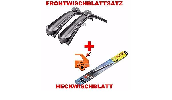 Bosch A256s A250h Komplettsatz Vorne Hinten Scheibenwischer WischblÄtter Auto