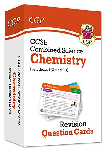 New 9-1 GCSE Combined Science: Chemistry Edexcel Revision Question Cards