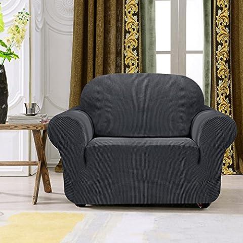 Subrtex 1-Piece Jacquard Stretch Sofa Slipcover (Chair,