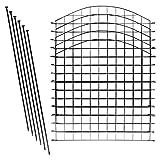 Teichzaun Set / Komplettsett in versch Verpackungseinheiten und versch Formen...