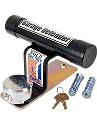 British Made Black Powder Coated Garage Defender Master - Best Garage Security