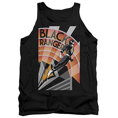 Power Rangers - - Débardeur noir Deco Ranger pour hommes, X-Large, Black