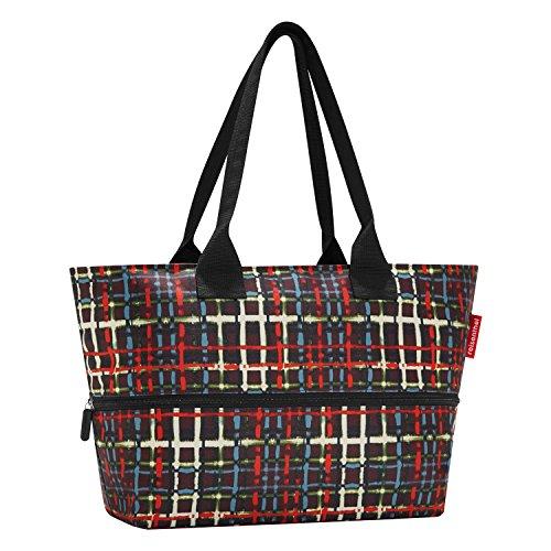 reisenthel shopper e1 wool Einkaufstasche Schultertasche vergrößerbar 12 L-18 L (17 Shopper)