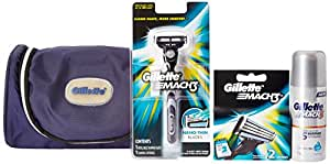 Gillette MACH3 Limited Edition Travel Pack (free Gillette kit bag)