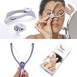 ADTALA Facial Hair Removal Epilator Threader System Hairbrush Cleaner Tool (Purple)