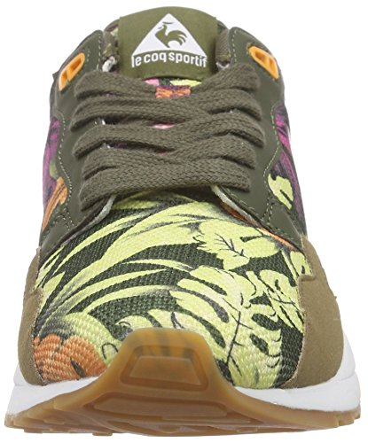 Le Coq Sportif Lcs R900 Flower Women Damen Sneakers Grün (Oil Green)