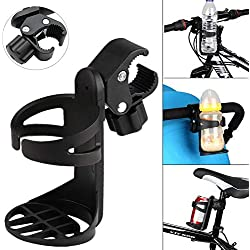 QNFY Porte-gobelets, Porte-gobelet Universel pour Boissons avec Porte-gobelet à Rotation de 360 degrés pour vélos, poussettes, Fauteuil Roulant, déambulateur, Scooter électrique (Calibre Grand)