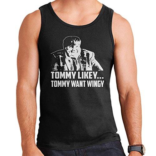 Tommy Boy Chris Farley Men's Vest Black
