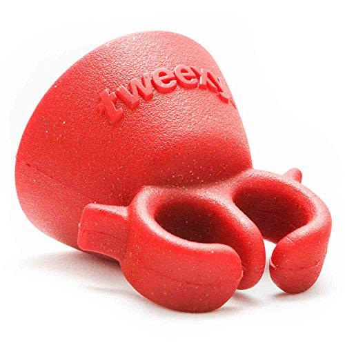 tweexy - Das Original Wearable Nagellack und Lack-Halter (Red Lava)