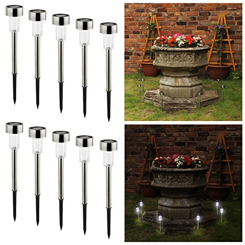 amos-10-x-stainless-steel-solar-powered-stick-post-led-lights-rechargeable-outdoor-garden-border-pat
