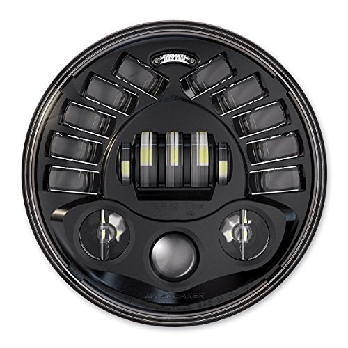 Preisvergleich Produktbild J.W.Speaker 8790 adaptive black Scheinwerfer LED