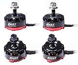 EMAX 4pcs Motor Brushless RS2205 2600KV sin escobillas 2CW 2CCW de para QAV250 QAV300 FPV que compite con Quadcopter