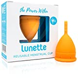 Lunette coupe menstruelle - Orange - Taille 1 (EN Version)