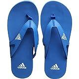 adidas Herren Badelatschen Calo 5 M blau weiß, Größe:48.5