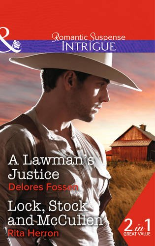 book cover of A Lawman\'s Justice / Lock, Stock and McCullen