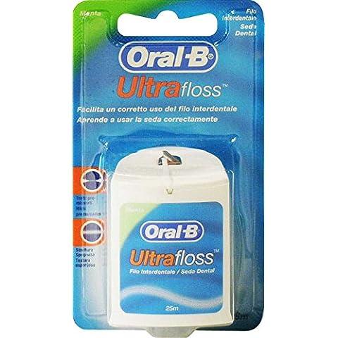 ORAL-B Cepillo de Dientes Con Colgador, Ultra Floss Cable 25 Millones de Toneladas.