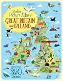 Sticker Picture Atlas of Great Britain and Ireland (Sticker Books)