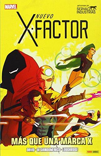 Nuevo X-Factor 8. Más Que Una Marca X (HEROES MARVEL TOMITO)