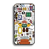 Special Doodle Style Comedy TV Series Friends Phone Case Cover for Iphone 6 / 6s ( 4.7 Inch ) Friends TV Show Stylish Cover Shell