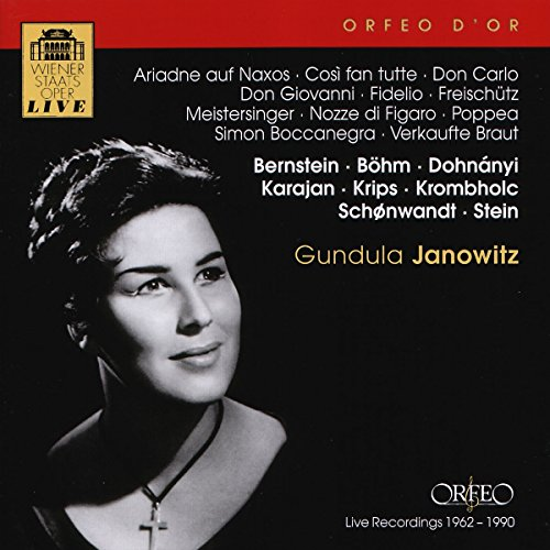 Ariadne auf Naxos / Così fan tutte / Don Carlo / Don Giovanni / Fidelio / Freischütz / Meistersinger / Nozze do Figaro / Poppea / Simon Boccanegra / Verkaufte Braut - Braut-fans