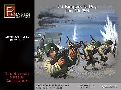 Pegasus PG7351 - 1/72 WW II: US-Truppen Figuren, D-Day