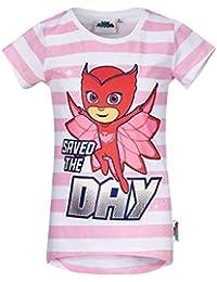 PJ Masks Chicas Camiseta Manga Corta - Rosa