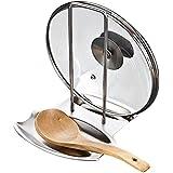 Gearmax® Multifunción rack de almacenamiento acero macetas de rejilla de acero con cuchara de cocina bandeja de agua bastidores