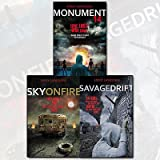 Monument 14 Trilogy Collection 3 Books Set By Emmy Laybourne, (Monument 14 (Monument 14 Trilogy 1), Sky on Fire (Monument 14 Trilogy 2) and Savage Drift (Monument 14 Trilogy 3)