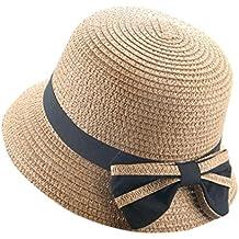 Sombrero del Sol del Verano De Los Niños AIMEE7 Sombrero De Copa del Sombrero De Paja