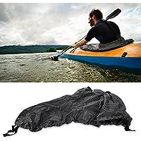 Tbest Falda de Cubierta de Spray Skirt para Kayak Impermeable, Nylon Universal Kayak Splash Spray Skirt Deck Faldón Cubierta Sprayskirt para Kayak Canoa de Marine Boat Accesorio