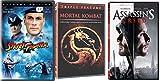 Video Games To The Big Screen: Mortal Kombat/ Mortal Kombat Annihilation & Street Fighter & Assassin's Creed 5-DVD Feature Film Bundle