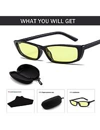Easy Go Shopping Gafas de Sol pequeñas de Ojo de Gato Gafas de Mujer Vintage de