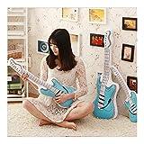 Yuhualiyi123 Giocattoli di Peluche Pane di Simulazione Alimentari Cuscino Imbottito Bambola Molle for Bambini novità Gioca Cuscino Sedia (Color : Blue 90cm)