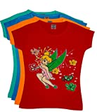 #5: 12 Colours - Larky Printed T shirt for girls - Pack of 4