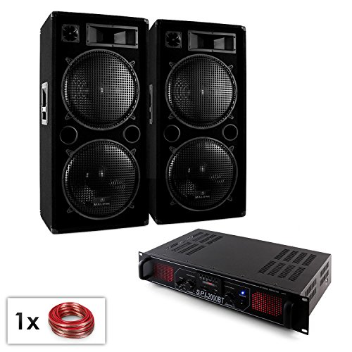 DJ Set PA della serie Blue Star'Beatsound MP3 Bluetooth' 2000W