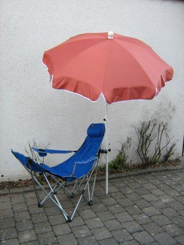 Holly ® produits-sTABIELO parasol : polyester - 10 pièces 250 cm-couleur terra-holly sunshade-prix de la partie-livraison gratuite incluse -