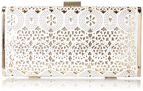 jessica-mcclintock-heather-perforated-clutch-white