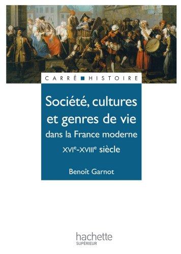 Société, cultures et genres de vie dans la Franc...