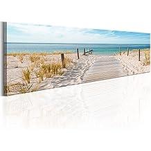 murando - Cuadro 172x45 cm - Playa - lienzo tejido-no tejido - Cuadro su lienzo tejido-no tejido - Impresion en calidad fotografica - Naturaleza Paisaje Mar c-A-0108-b-a